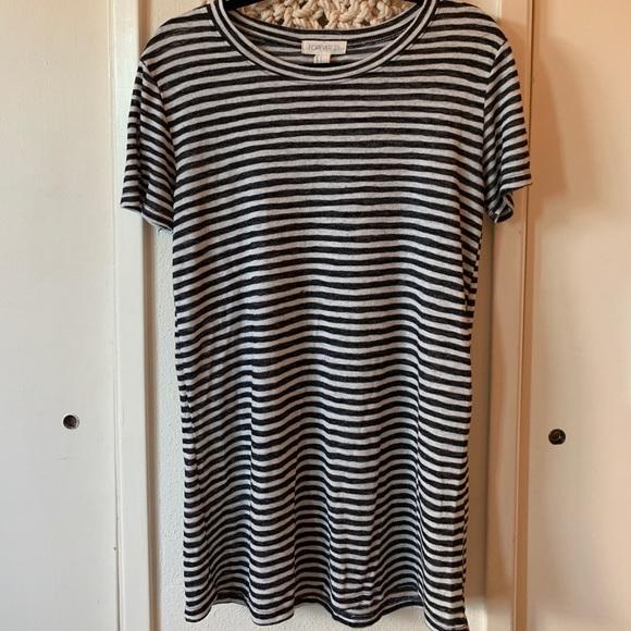 d21f13a19878 Forever 21 Dresses   Striped Tshirt Shift Dress   Poshmark